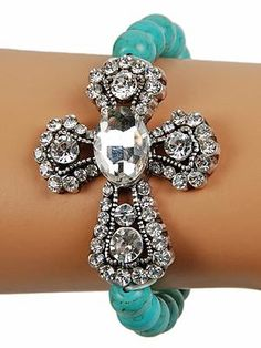 Cross bracelet!.....gotta have it