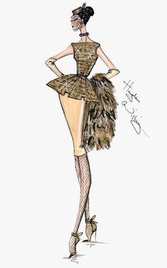 #Hayden Williams Fashion Illustrations  #Hayden Williams Haute Couture FW13