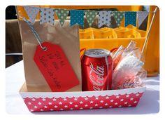 Geschenke mit cola
