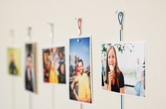 Too fickle for framing pics? Try these magnetic photo ropes, then you can pop prints on and off, no problem! ($12.00, http://photojojo.com/store)