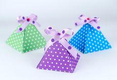 Pyramídky – krabičky na drobnosti (šablóna na stiahnutie) | Šperkovo.sk