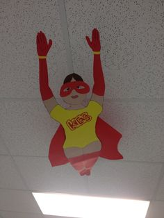 Love this superhero flying through the air. She is quite the acrobat!