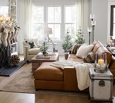 Turner Square Arm Leather Sofa With Chaise Sectional – farmhouse furniture living room Farmhouse Living Room Furniture, Coastal Living Rooms, Living Room Interior, Home And Living, Home Furniture, Rustic Furniture, Small Living, Furniture Layout, Furniture Stores