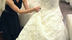 Adding Bustles to a Wedding Dress : Wedding Dresses & Bridal Fashion