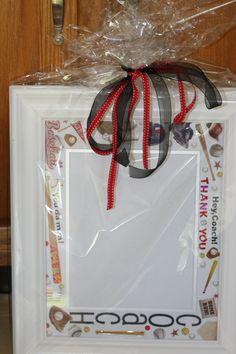 Coaches Gift Frame