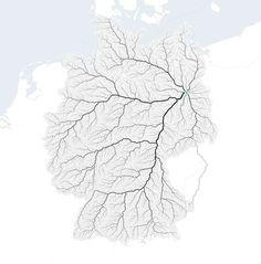 Oh und das sind übrigens alle Straßen Deutschlands, die nach Berlin führen: