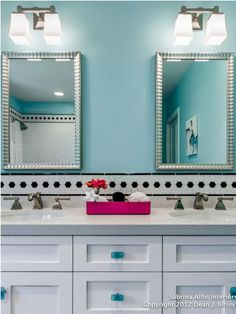 teen bathroom | Teen Bathroom in Blue Several Themes for Teen Bathroom Ideas