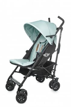 The Easywalker MINI Buggy in ice blue! We love this colour!