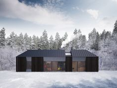 prefab scandinavian house. i like the idea of this many windows but really how 'green' can it be to lose that much heat in winter or cool air in summer? http://www.fiskarhedenvillan.se/Claesson-Koivisto-Rune