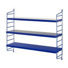 String shelf Pocket cobalt blue
