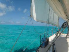 Crossing the great bahama Banks June 2014