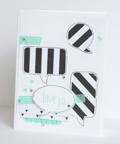 Word Bubbles and Let's Talk Stampin' Up! www.stampwithheather.ca