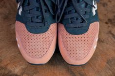 Asics salmon toes by Ronnie Fieg