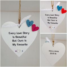 Love Plaques Quotes Beauteous Personalised Daughter Quote Handmade Plaque  Personalised