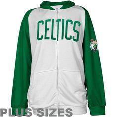 NBA Majestic Boston Celtics Womens Raglan Full « Clothing Impulse
