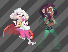 Tweet multimediali di 3DROD (@3DROD)   Twitter Marina Splatoon, Splatoon 2 Art, Splatoon Comics, Pearl And Marina, Manga Pictures, Cool Artwork, Animal Crossing, Character Art, Fan Art
