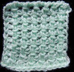 Crochet : Punto Tunecino # 15