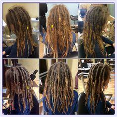 Before & After  #dreadlocks #caucasiandreadlocks #georgiadreadheads #dreadlockmaintenance #professionaldreadlocks #dreadlocksinsuwanee #dreads