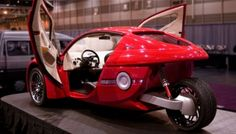 ZAP Alias, electric three wheeled car