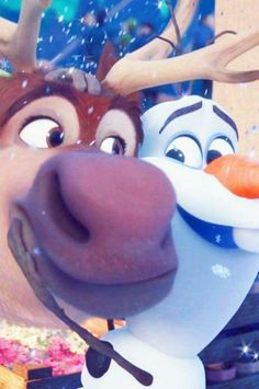 Disney Frozen Sven and Olaf Frozen Disney, Disney Pixar, Walt Disney, Sven Frozen, Disney Sidekicks, Animation Disney, Frozen Movie, Disney And Dreamworks, Disney Films