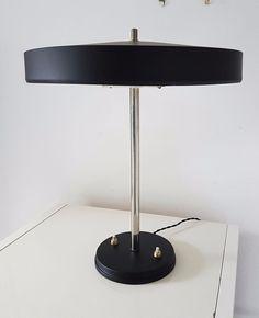 1950s Vintage Philips Large Desk Lamp by LOUIS KALFF EAMES STILNOVO ARTELUCE #20thCenturyModern #Lamps