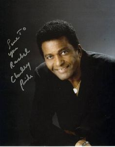 Charlie Pride - a pioneer for country music, and a really decent human being.