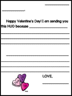 Welcome to The Schroeder Page!: Send a HUG this February!
