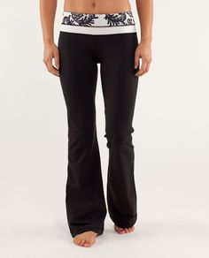 Lulu Lemon Groove Pants, I got these for Christmas from my cousin who works for Lulu Lemon and I love them!! I wear them so much!