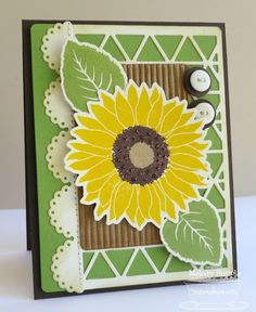 Sunflower Birthday by mrupple - Cards and Paper Crafts at Splitcoaststampers