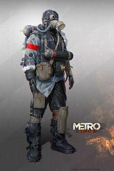 The Art of Metro 2033 Last Light 19
