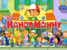 tons of handy manny party ideas