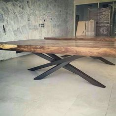 Live edge tables with crazy legs liveedge table furniture_design furniture australianhairpinlegs furnituredesigns