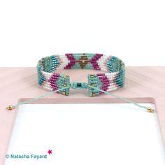 Woven bracelet navajo / amerindian / native american style