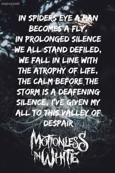 Motionless In White // Creatures