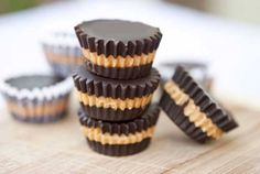 Clean Eating Peanut Butter Cups (could be dairy free)