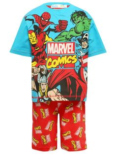 M&Co. Boys Marvel Avengers pyjamas