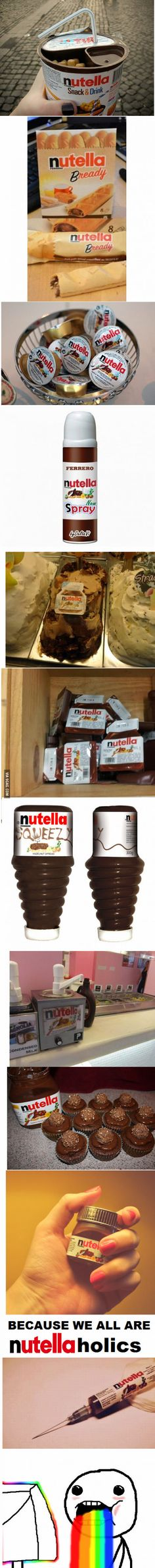 I heard you like NUTELLA...