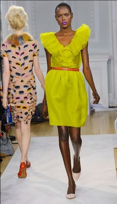 Moschino Cheap and Chic at London Fashion Week Fall 2012