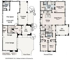 Ideal floor plan with my daycare at the bottom (Lock-off Suite)