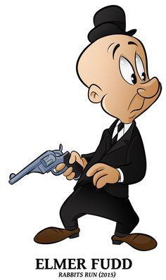 15 Looney of Spring – Elmer Fudd by BoscoloAndrea funniest cartoon character pictures Cartoon Character Pictures, Looney Tunes Characters, Classic Cartoon Characters, Looney Tunes Cartoons, Cartoon Jokes, Favorite Cartoon Character, Cartoon Tv, Classic Cartoons, Vintage Cartoon