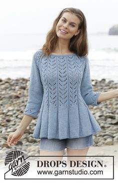 Search all Patterns - Free knitting patterns and crochet patterns by DROPS Design Knitting Designs, Knitting Patterns Free, Knit Patterns, Free Knitting, Free Pattern, Drops Design, Belle Epoque, Handgestrickte Pullover, Knitting For Beginners