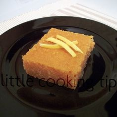 Samali is a traditional Greek cake made of semolina and mastic and is wonderfully drenched with lemon syrup.