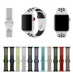 82933de2724 LXsmart Sport Nike Silicone Strap Pulseira For Apple Watch band Wrist belt  watchband For iwatch series