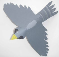 Crack of Dawn Crafts: Make a Flying Falcon- Paper Tube Craft and Game