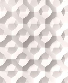 For pattern, structure & CMF trends visit www.chameo-design.com and follow chameo design on Pinterest I Hexagon, ceramics, white, shadow