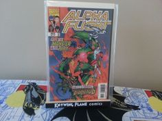 Alpha Flight Vol 2 17 Marvel Comic Appearance Big Hero 6 Disney Movie NM Alpha Flight, Comics For Sale, Vol 2, Big Hero 6, Disney Movies, Marvel Comics, Action Figures, Indie, Wings