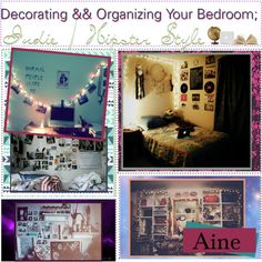 Decorating && Organizing Your Room; Indie/Hipster♥, created by tip-duchesses on Polyvore