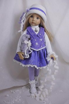Dress Ups by PJ ... Chance of Flurries for the Effner Little Darlings | Flickr - Photo Sharing!