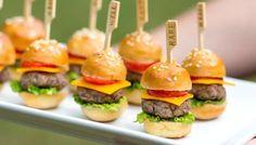 6 Delish Mini Burgers & Sandwiches for Parties!