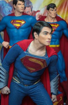 Herbert Chaves definitely looks like Superman, but his superhero look didn't come cheap.